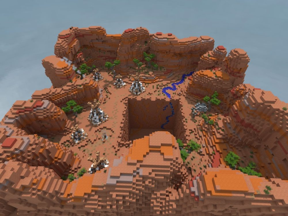 Prison mine for Minecraft server