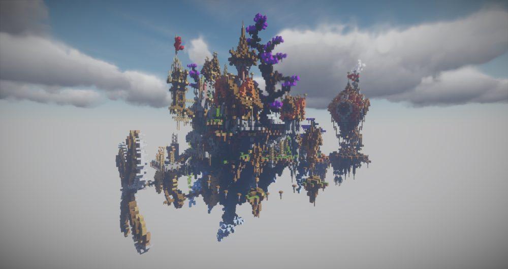 Server Sky lobby hub
