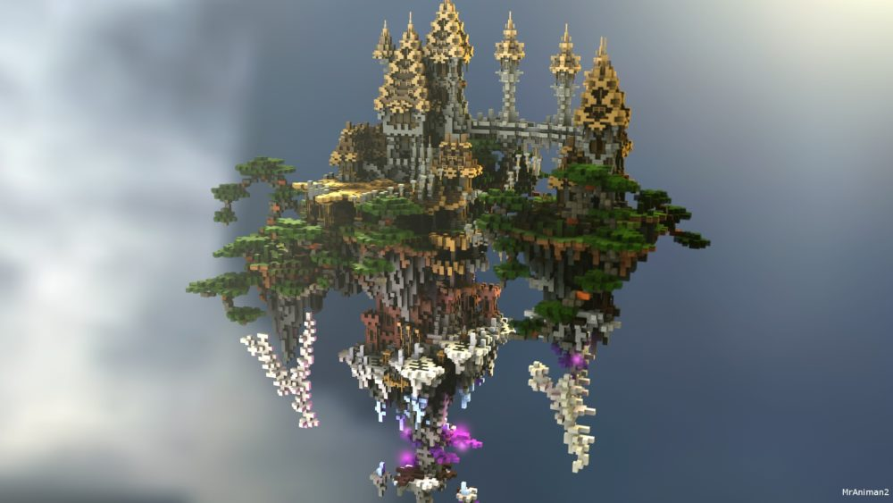Sky spawn for Minecraft server